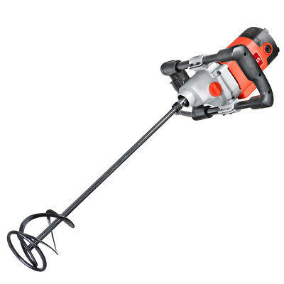 £53.99 • Buy 1200W Electric Plaster Paddle Mixer Drill Mortar Cement Paint Stirrer Whisk 240V