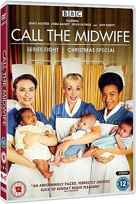 Call The Midwife - Complete Series 8 (3 Disc Dvd Set) New And Sealed • 7.95£