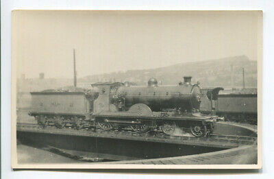 Vintage Railway Photo - Caledonian 4-4-0 Dunalastair? Class 43 Glasgow Turntable • 2£