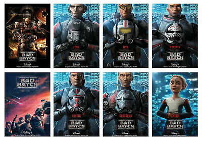 £4.29 • Buy Star Wars: The Bad Batch TV Series Posters Art Print Home Decor Gift Ideas