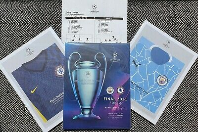 £19.99 • Buy CHELSEA V MANCHESTER CITY CHAMPIONS LEAGUE FINAL PROGRAMME 29/5/2021 IN STOCK!!!