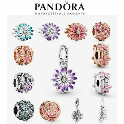 AU19.99 • Buy 2021 New Genuine Pandora Daisy Charm S925 ALE Sterling Silver & With Gift Box