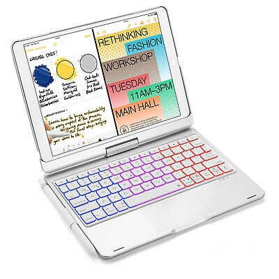 AU69.99 • Buy For IPad 7th 8th Gen 10.2 2020 Bluetooth Keyboard Case Cover With Pencil Holder