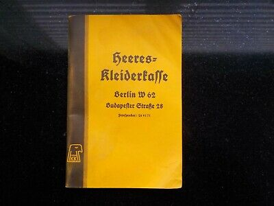 WW2 German Officer Clothing Catalogue • 45£