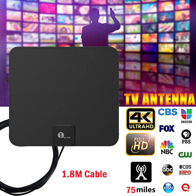 £15.98 • Buy  4K Digital HDTV Aerial W/Stand Indoor Antenna HD 1080P DVB-T2 Freeview TV Home