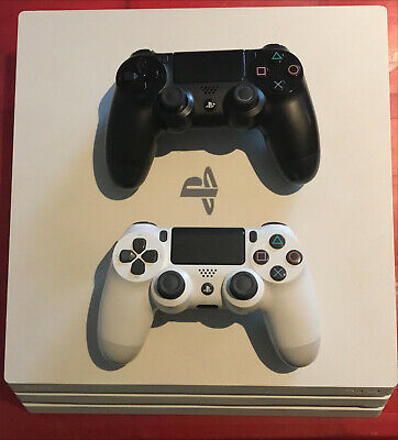 AU250 • Buy PS4 PRO - Sony PlayStation 4 Pro 1TB - Glacier White + 3 Games + 2 Controllers