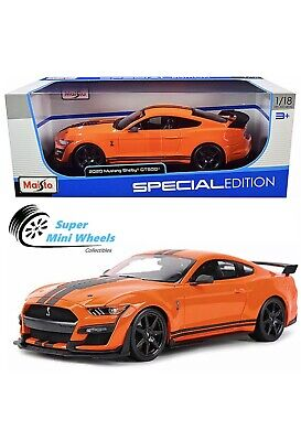 $39.99 • Buy Maisto 2020 Ford Mustang Shelby GT500 Orange - 1:18 Special Edition