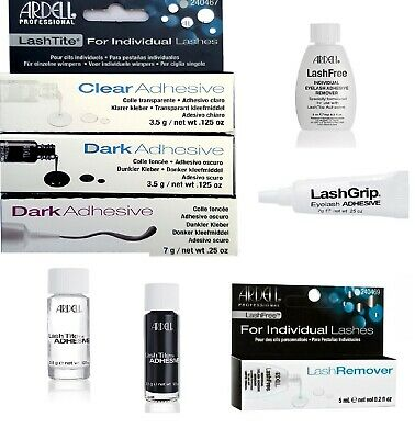 £4.97 • Buy Ardell LashTite Eyelash Lash Adhesive Glue Semi Permanent Dark/Clear And Remover