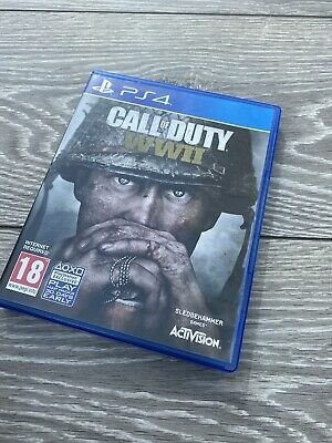 Call Of Duty WWII  PS4 PlayStation 4  World War 2 II Shooter COD • 5£