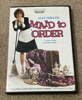 $11 • Buy Maid To Order (DVD) Ally Sheedy RARE OOP Beverly D'Angelo Romantic Comedy