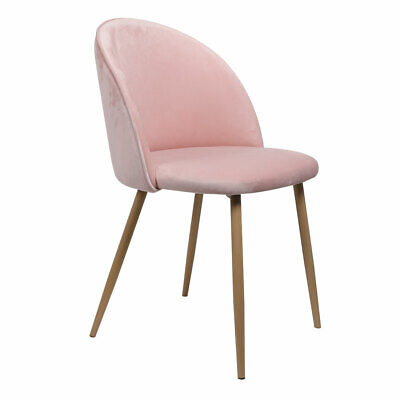AU135.51 • Buy 2x Dining Chairs Seat French Provincial Kitchen Lounge Chair Pink