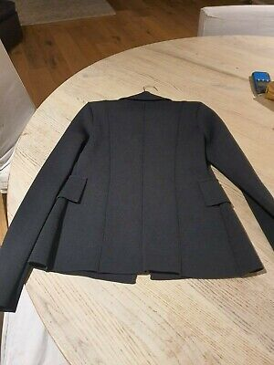 AU200 • Buy Scanlon Theodore Black Double Breasted Crepe Jacket In Small