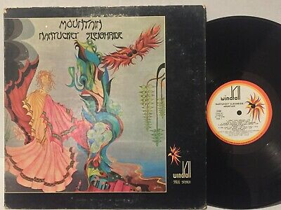 £29.09 • Buy Mountain Nantucket Sleighride VG+ ORIG WINDFALL Gtfld White Label +BOOKLET Psych