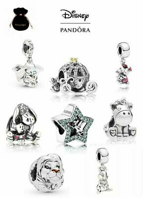 AU21.99 • Buy New Authentic Pandora Disney Silver Sterling Charm Ale 925 With Gift Pouch