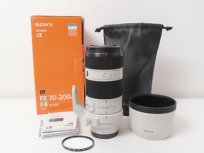 AU1390 • Buy Sony FE 70-200mm F4 G OSS Full-frame Lens For A7 A7S A7R ~Excellent Condition