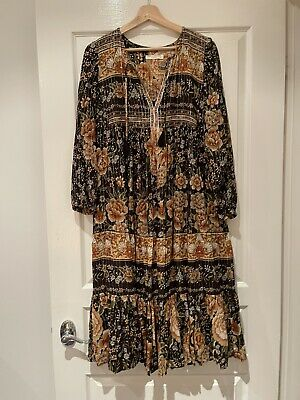 AU41 • Buy Bnwot Spell Mystic Boho Dress Xs