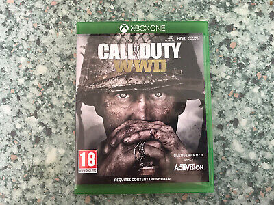 Call Of Duty Ww2 Xbox One Game • 3.10£