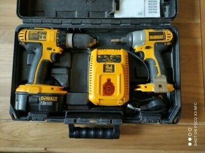 DEWALT DCX4241 Combi Drill And Impact Driver18V Kit - Pack Of 2. OR BEST OFFER • 53£