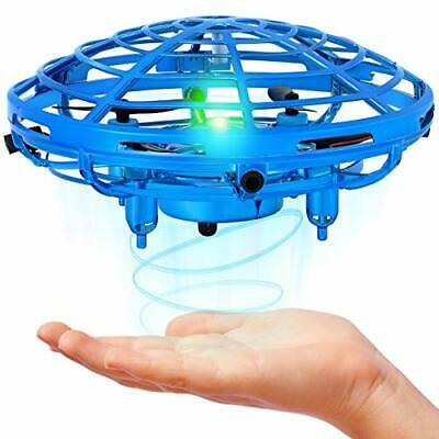 AU31.69 • Buy Mini Drone For Kids And Adults Hand Operated Flying Toy With 360° Rotating An...