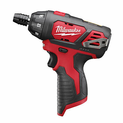 £59.99 • Buy Milwaukee M12BSD-0 12v 20Nm 1/4 Sub Compact Single Speed Driver (Body Only)