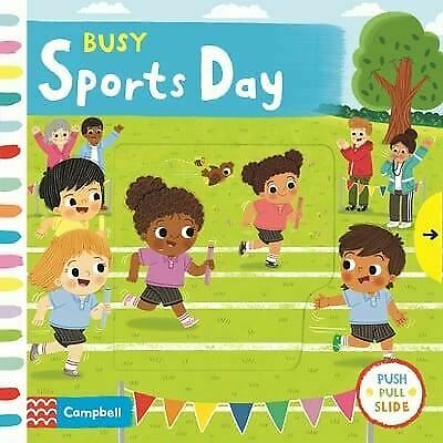 £5.17 • Buy Busy Sports Day By Campbell Books