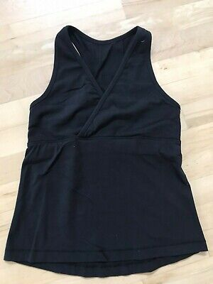 $ CDN12.08 • Buy Lululemon Deep V Top Black Size 4
