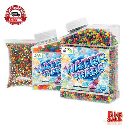 AU39.51 • Buy 50000pcs Large Jumbo Giant Orbeez Magic Garden Water Beads Big Aqua Balls Decor