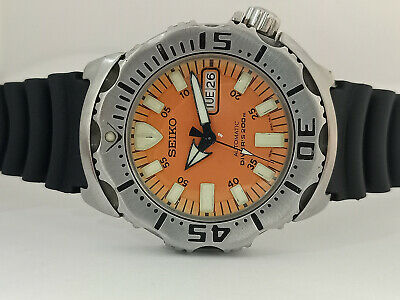 $ CDN362.99 • Buy Pre-owned Seiko Divers Skx781 Orange Monster Automatic Men's Watch Sn 441709