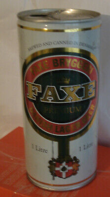 $ CDN12.08 • Buy 1 Liter One 1l Cans Can Beer FAXE BEER OF YEAR 2000 Empty
