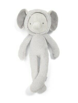 £8.50 • Buy Mamas And Papas Midi Elephant Plushie Soft Toy For Baby Toddler New With Tags
