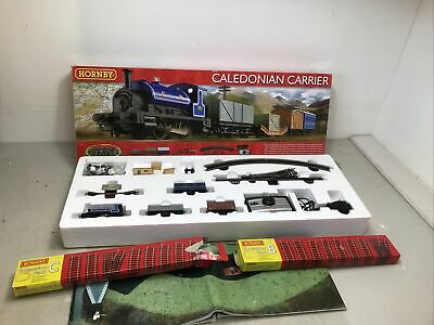 Hornby OO Gauge R1140 Caledonian Carrier + Track Extension Sets B & C All Boxed • 9.99£