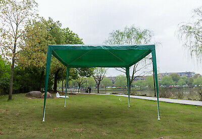 3x 3m Outdoor Garden Gazebo Marquee Canopy Camping Party Tent  Heavy Duty Green • 66.09£