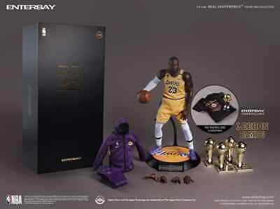 $649.99 • Buy Enterbay RM 1084H LA Lakers Lebron James Exclusive Version New - Ready To Ship
