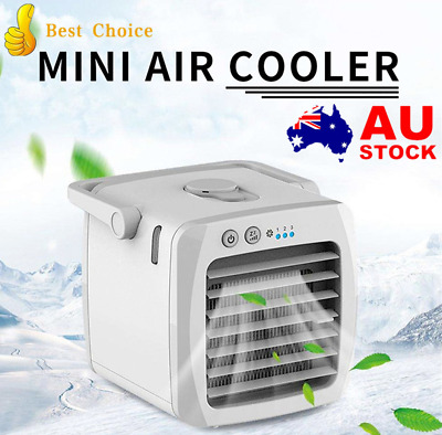 AU12.99 • Buy Portable Mini Air Conditioner Fan Cooler USB Arctic Cooling Humidifier Purifier