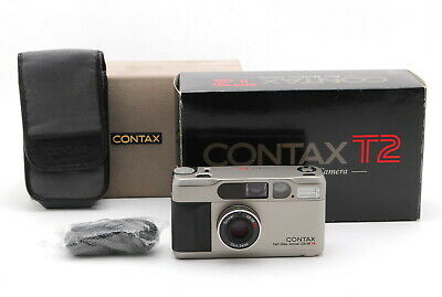 $ CDN1637.74 • Buy [A- Mint] CONTAX T2 Point & Shoot 35mm Film Camera Body W/ Box From JAPAN 6932