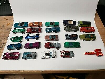 $ CDN94.09 • Buy Hot Wheels Redlines Lot Of 23 Rough Condition, But Some Of The Classics
