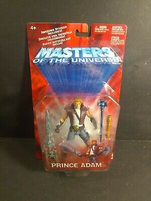 $29.99 • Buy 2001 PRINCE ADAM Motu Masters Of The Universe Action Figure MOC