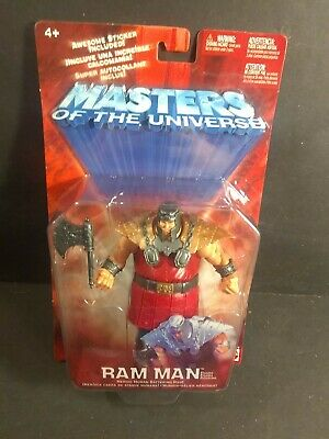 $29.99 • Buy 200X HE-MAN MOTU MASTERS OF The UNIVERSE MATTEL RAM MAN ACTION FIGURE MOC NEW