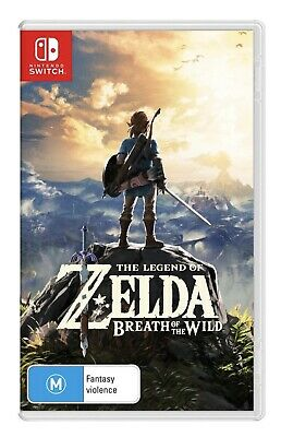 AU34.33 • Buy The Legend Of Zelda Breath Of The Wild In AS NEW Condition!