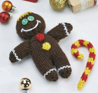 £0.99 • Buy Knitting Pattern 2575.  Christmas Gingerbread Man.  6 Inches Tall