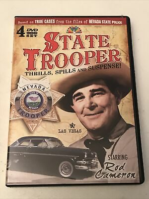 £11.58 • Buy STATE TROOPER - COMPLETE FIRST SEASON Rare (16 Hour) Dvd Set ROD CAMERON True 57
