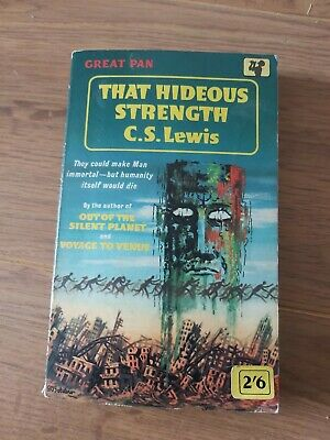 £5 • Buy That Hideous Strength C S Lewis Great Pan 1962  Vg Condition Last Space Trilogy.