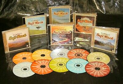 £77.29 • Buy Rare! 10 CD Set TIME LIFE Classic Soft Rock SOUNDS OF 70s 80s Eighties The