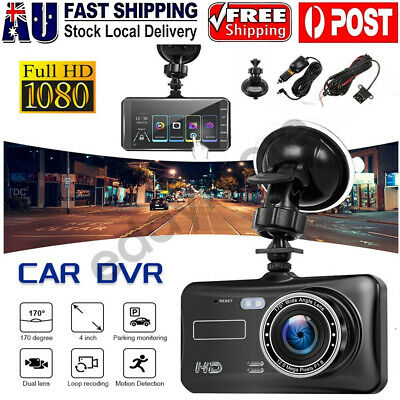 AU48.95 • Buy Car Dash Camera Touch Night Vision Video DVR Recorder Front And Rear Dual Cam AU