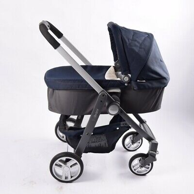 Graco Evo Avant Travel System Pram Pushchair Carry Cot Carseat NO RESERVE • 1£