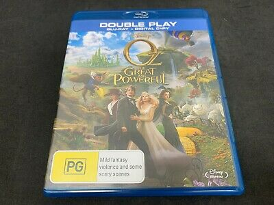 AU5.21 • Buy Oz The Great And Powerful (James Franco) (2013) (PG, Blu-Ray, B)