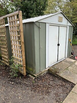 Metal Shed 10 X 11 Ft Green • 14.22£