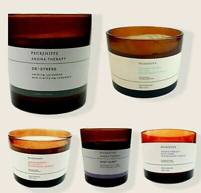 £12.99 • Buy Pecksniffs 150g And 300g Large  Aromatherapy Candles Recovery& Deep Sleep
