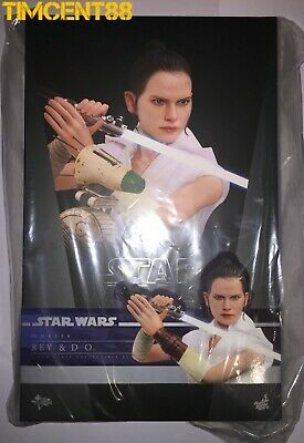 $ CDN535.68 • Buy Ready! Hot Toys MMS559 STAR WARS THE RISE OF SKYWALKER 1/6 REY AND D-O Set New