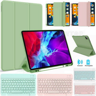 AU25.99 • Buy Smart Case Cover With Keyboard For IPad Pro 11 2021 Air 4th 7/8th 2020 5/6th 9.7